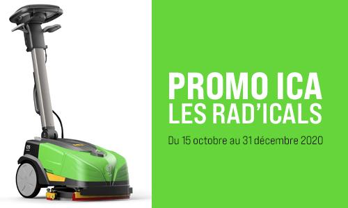Promo RADICALS autolaveuse ICA